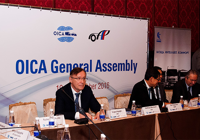 General Assembly of the International Organization of Motor Vehicle Manufacturers OICA