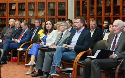 Правление Палаты рассмотрело вопросы конгрессно-форумной деятельности в системе ТПП